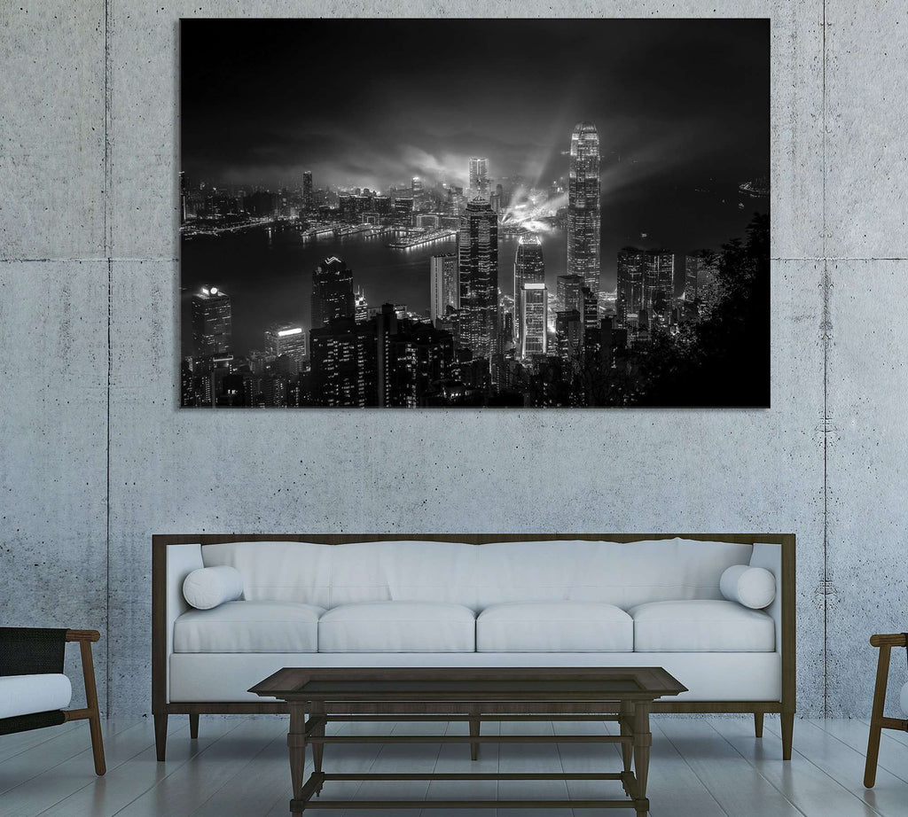 Hong Kong Cityscape №3014 Ready to Hang Canvas Print