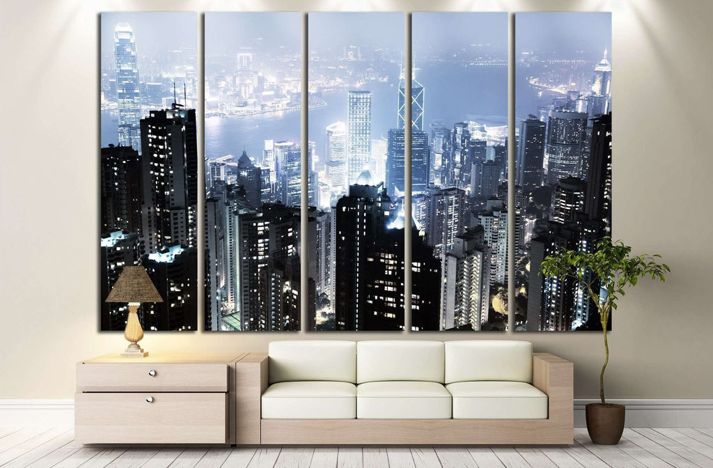 Hong Kong №766 Ready to Hang Canvas Print