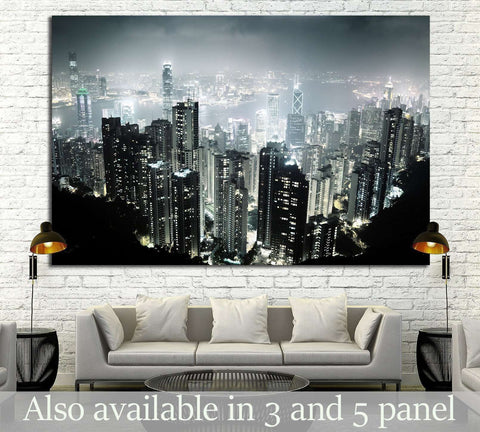 Hong Kong №767 Ready to Hang Canvas Print