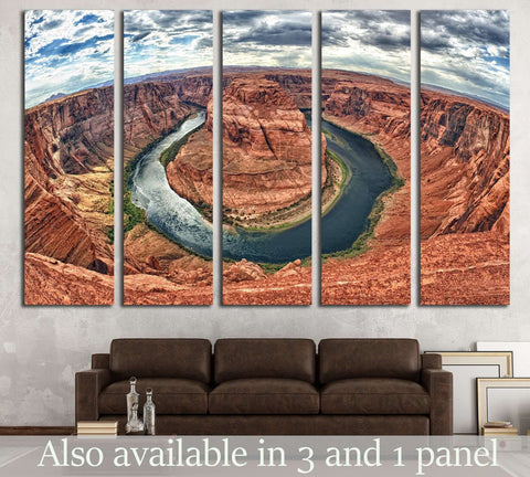 Horseshoe Bend №547 Ready to Hang Canvas Print