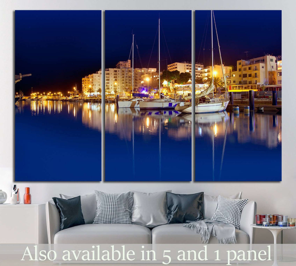 Ibiza island №997 Ready to Hang Canvas Print