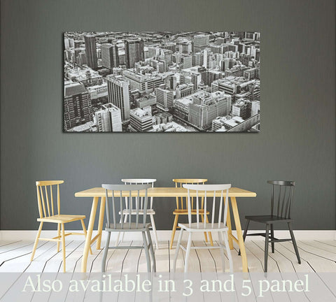 Johannesburg Central Business District has the most dense collection of skyscrapers in Africa №2945 Ready to Hang Canvas Print