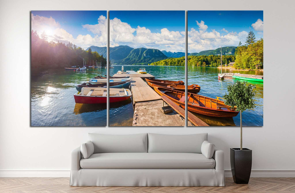 julian Alps, Slovenia №873 Ready to Hang Canvas Print