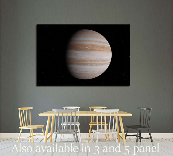 Jupiter planet (Elements of this image furnished by NASA) №2422 Ready to Hang Canvas Print
