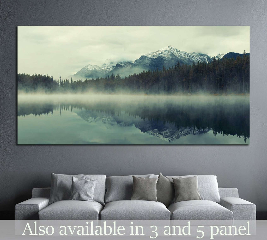 Lake Herbert, Banff National Park, Canada №877 Ready to Hang Canvas Print