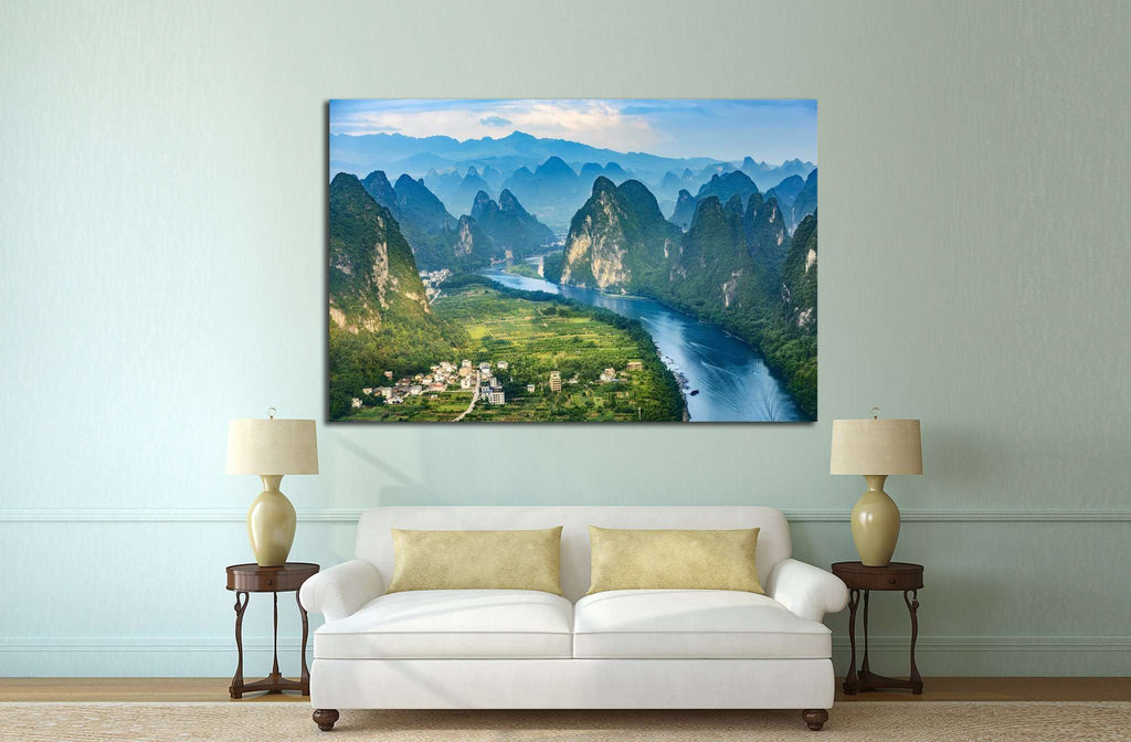 Landscape of Guilin, China №624 Ready to Hang Canvas Print