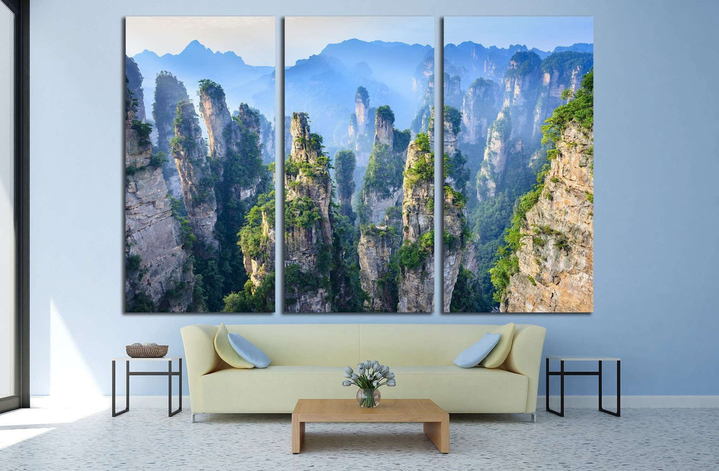 Landscape of Zhangjiajie, China №1315 Ready to Hang Canvas Print