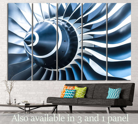 Large Propeller №173 Ready to Hang Canvas Print