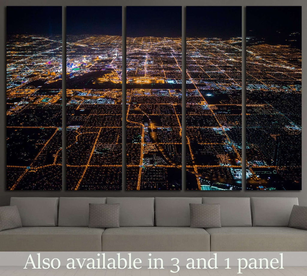 Las Vegas Nevada №526 Ready to Hang Canvas Print