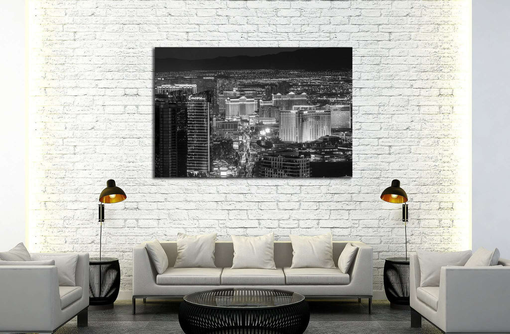 Las Vegas №529 Ready to Hang Canvas Print