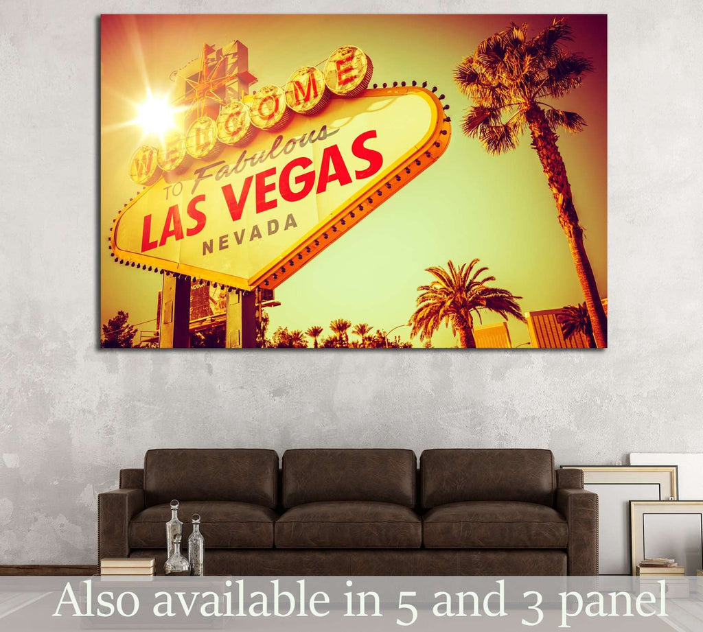 Las Vegas №530 Ready to Hang Canvas Print