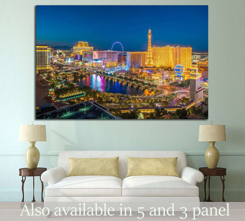 Las Vegas №537 Ready to Hang Canvas Print