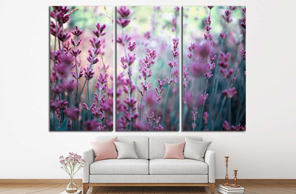 lavender flowers №834 Ready to Hang Canvas Print
