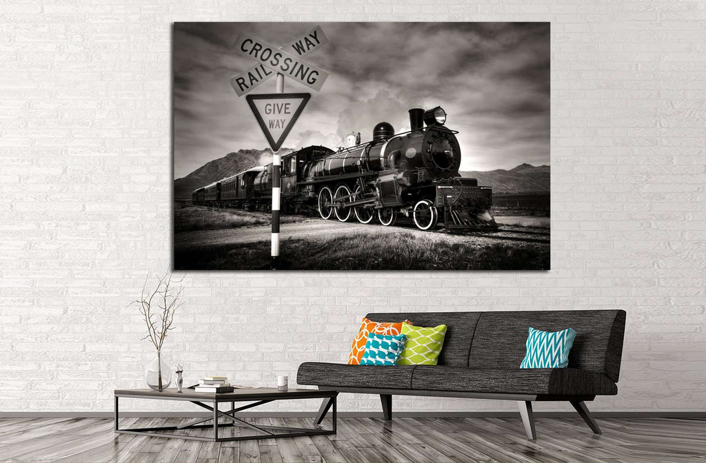Locomotive №230 Ready to Hang Canvas Print