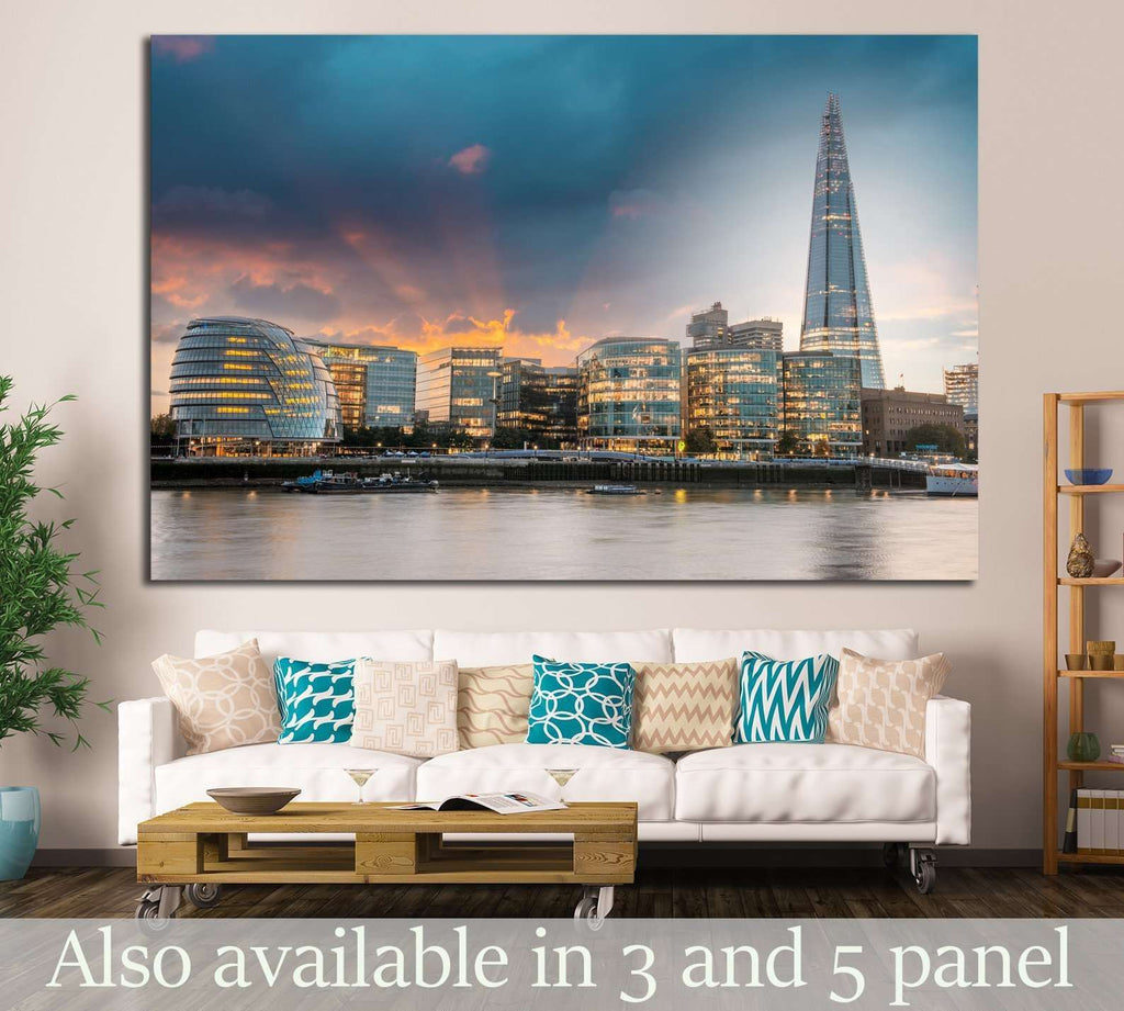London city hall №785 Ready to Hang Canvas Print