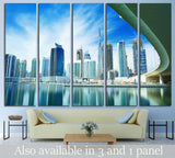 luxury center of Dubai,United Arab Emirates №1195 Ready to Hang Canvas Print