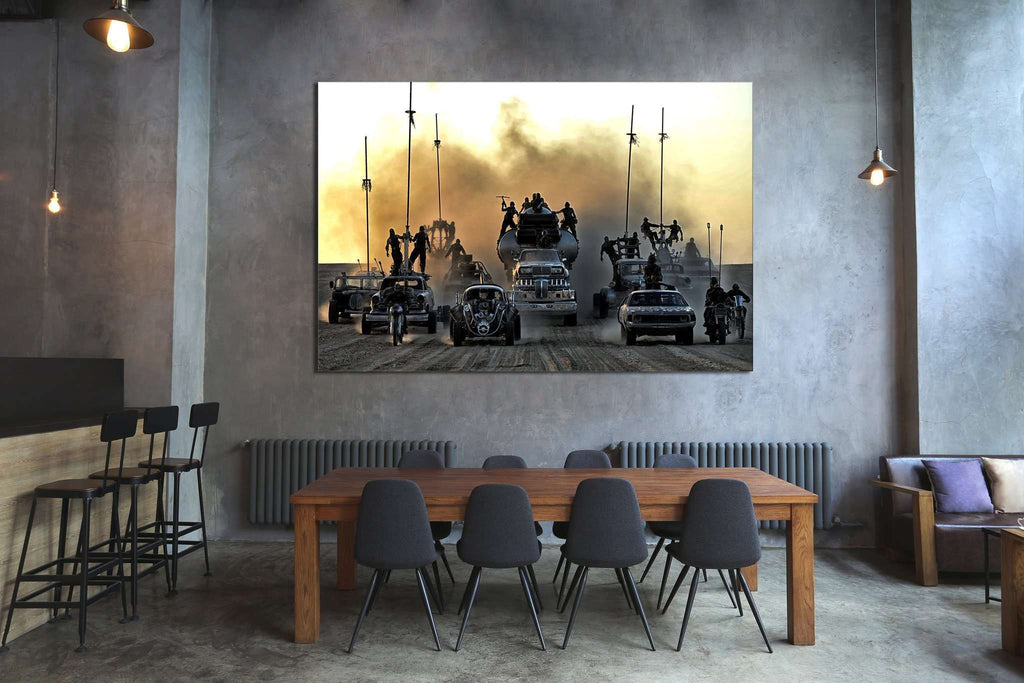 Mad Max Fury №2002 Ready to Hang Canvas Print