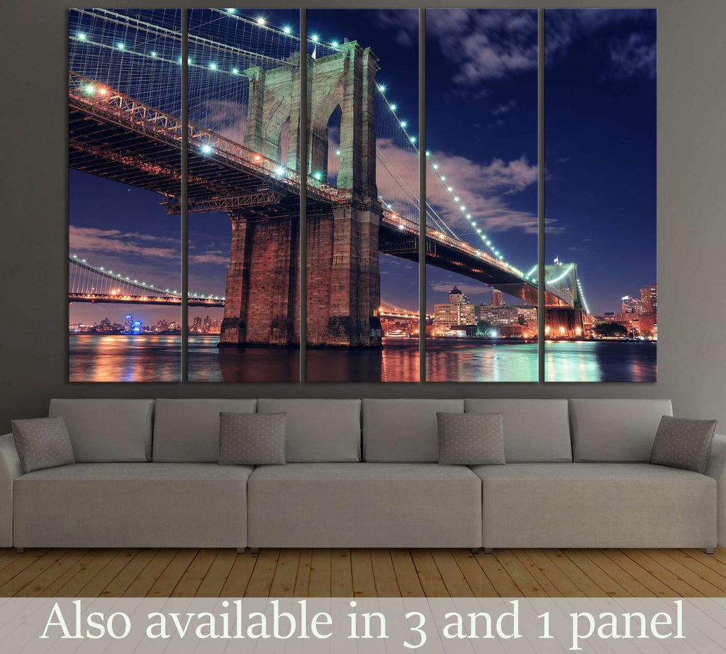 Manhattan Bridge №122 Ready to Hang Canvas Print