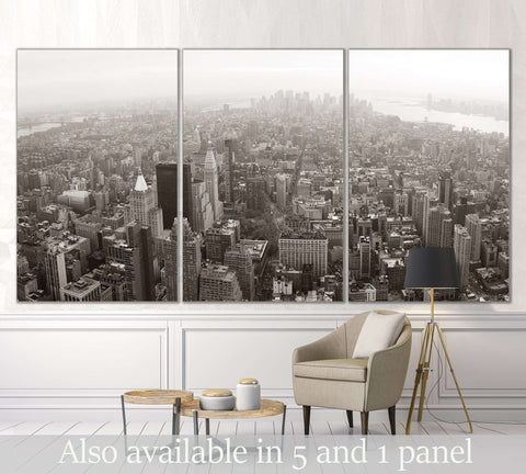 Manhattan New York №3019 Ready to Hang Canvas Print