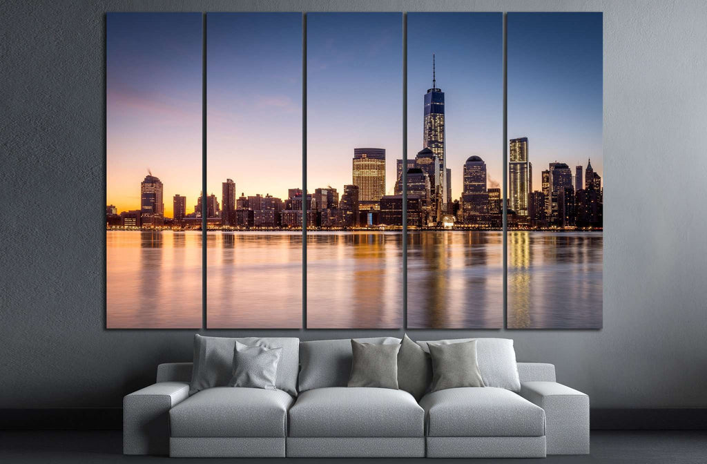Manhattan №587 Ready to Hang Canvas Print