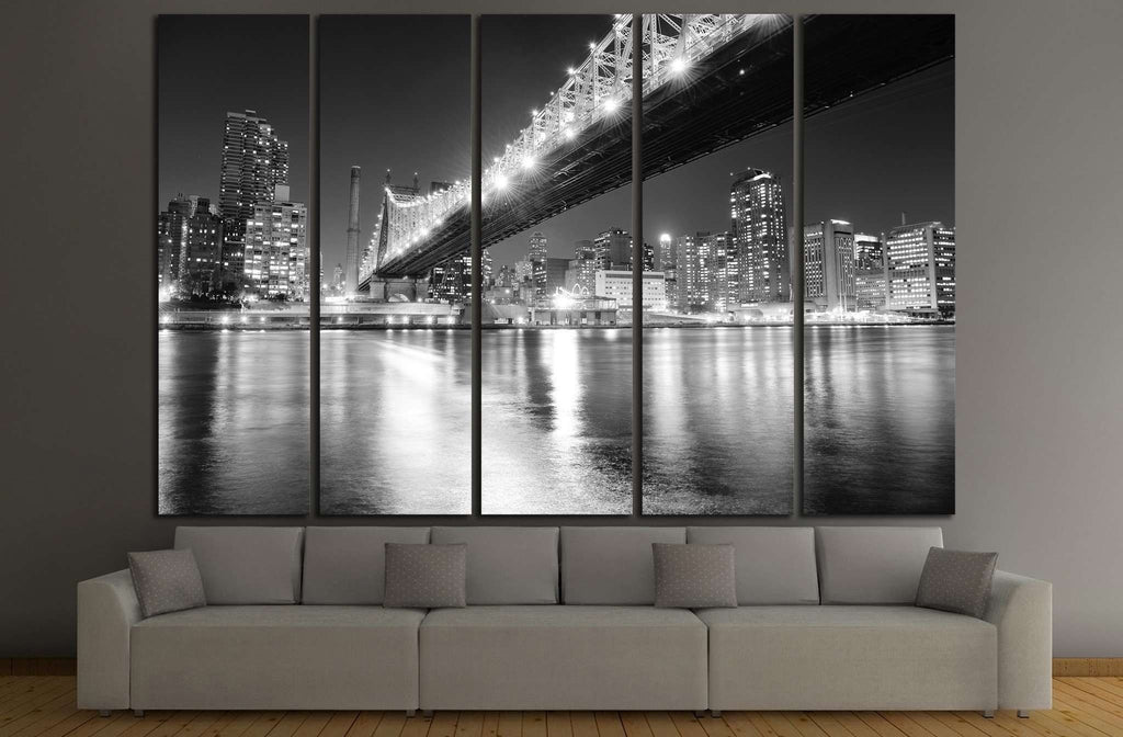 Manhattan skyline №776 Ready to Hang Canvas Print