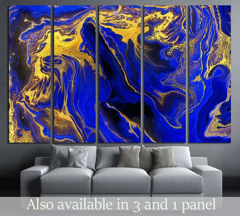 Marble. Beautiful abstract horizontal background №3228 Ready to Hang Canvas Print