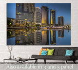 Melbourne city №812 Ready to Hang Canvas Print