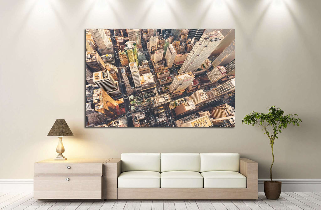 Midtown Manhattan, St Patrick's Cathedral №1227 Ready to Hang Canvas Print