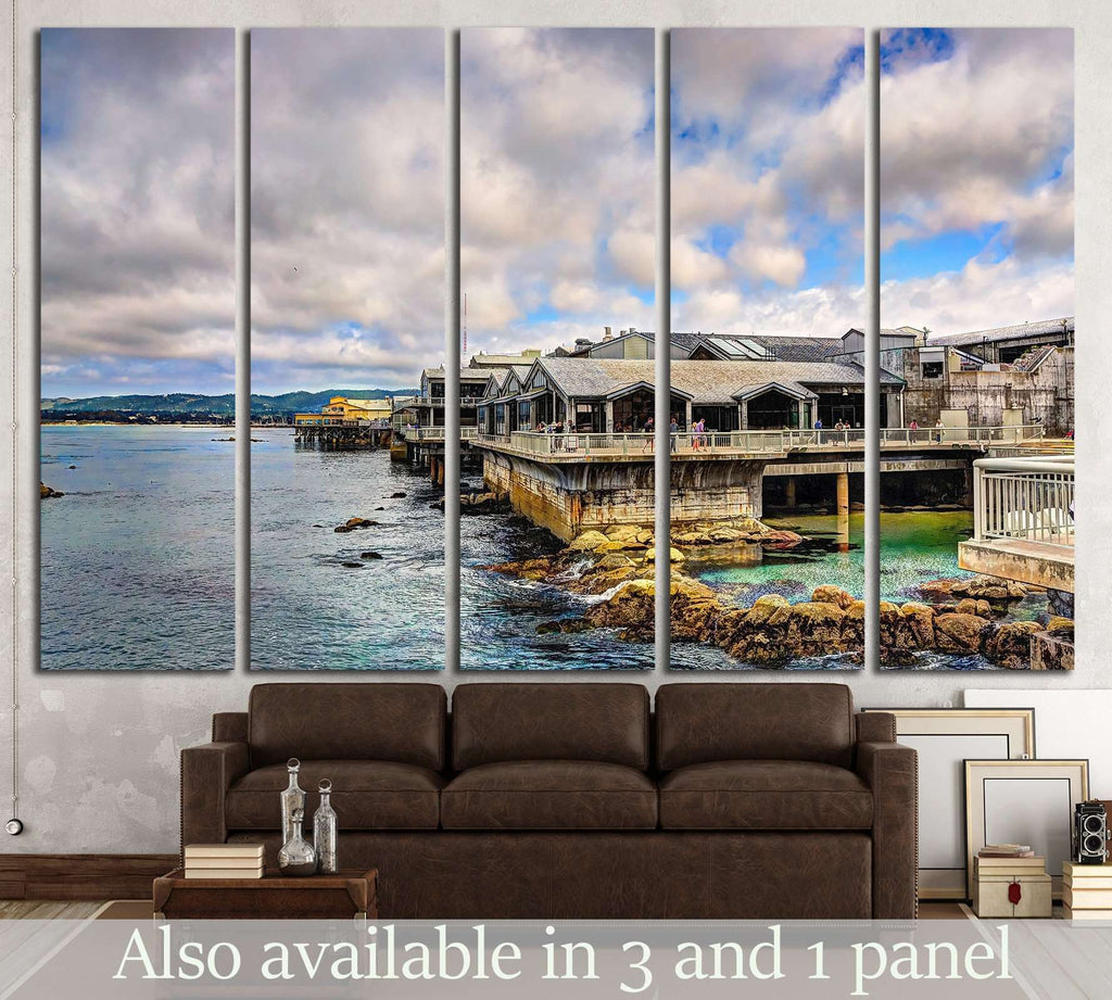 Monterey bay aquarium building, California №1238 Ready to Hang Canvas Print