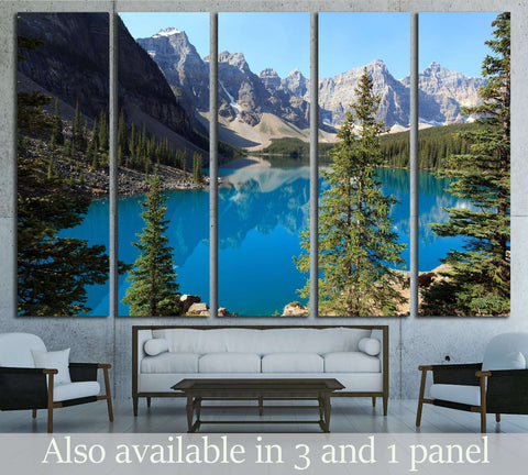 Moraine Lake №2870 Ready to Hang Canvas Print