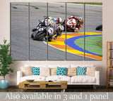 Moto GP Riders №162 Ready to Hang Canvas Print