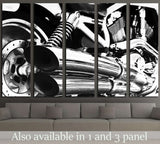 Motor Bike Engine №532 Ready to Hang Canvas Print