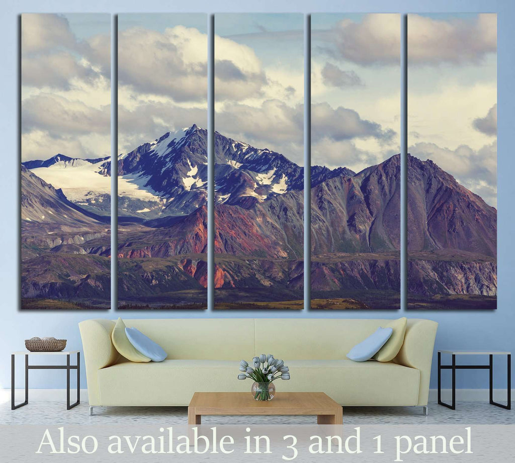Mountain №717 Ready to Hang Canvas Print