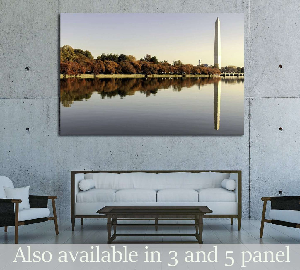 National Mall at autumn. Washington, DC №2063 Ready to Hang Canvas Print