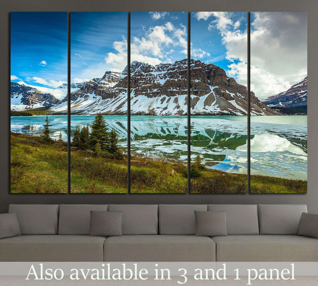 National Park Alberta, Canada №19 Ready to Hang Canvas Print
