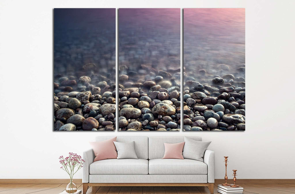 Nature composition of sunset №838 Ready to Hang Canvas Print