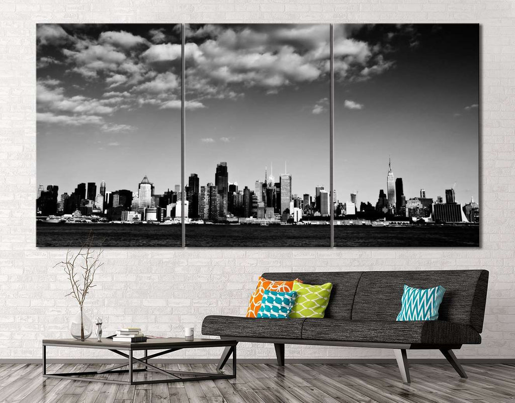 New York Black and White №114 Ready to Hang Canvas Print