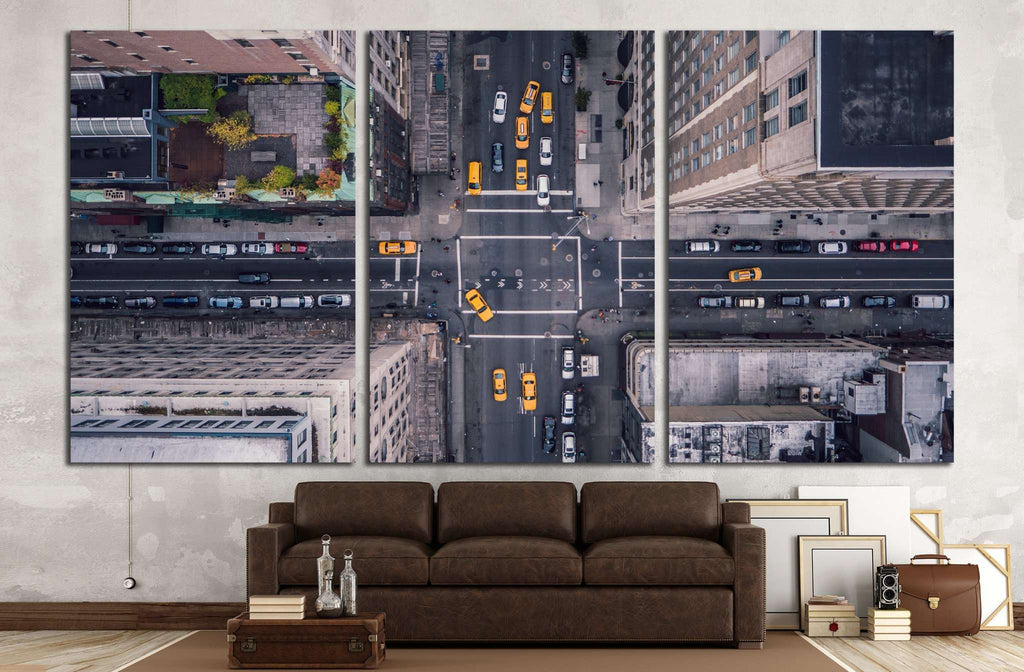 New York City 5th Ave Vertical №1435 Ready to Hang Canvas Print