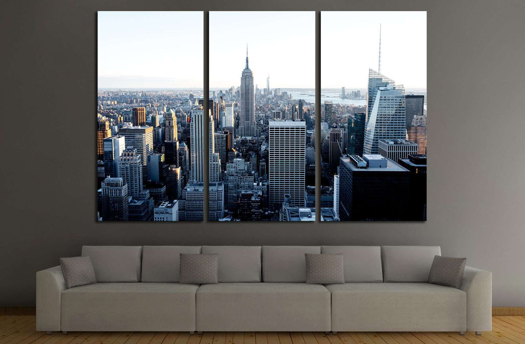 New York City №542 Ready to Hang Canvas Print