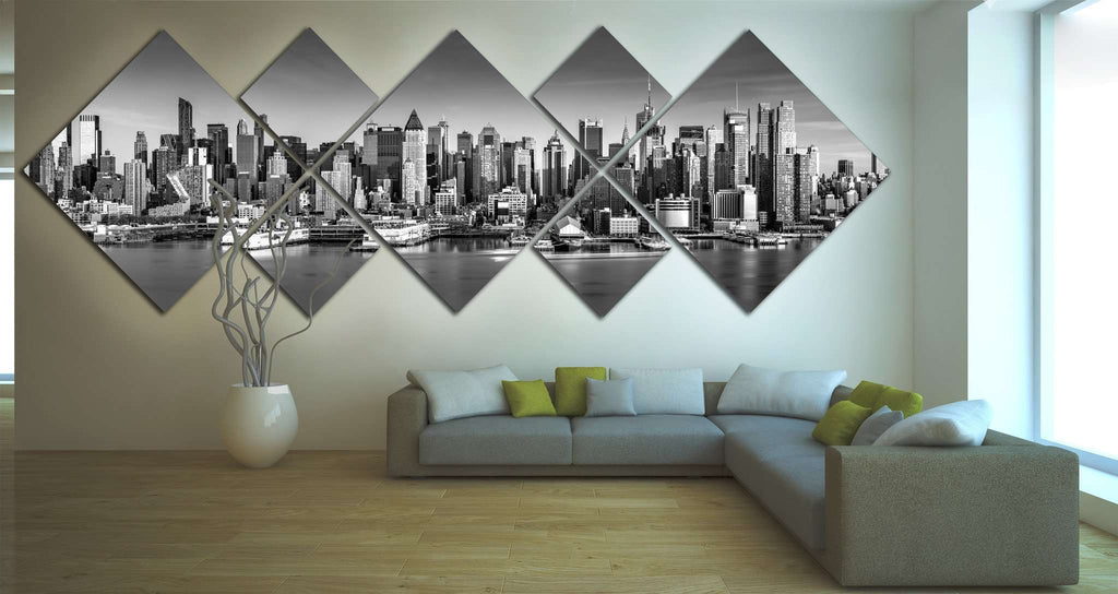 New York City Skyline №1089 Ready to Hang Canvas Print