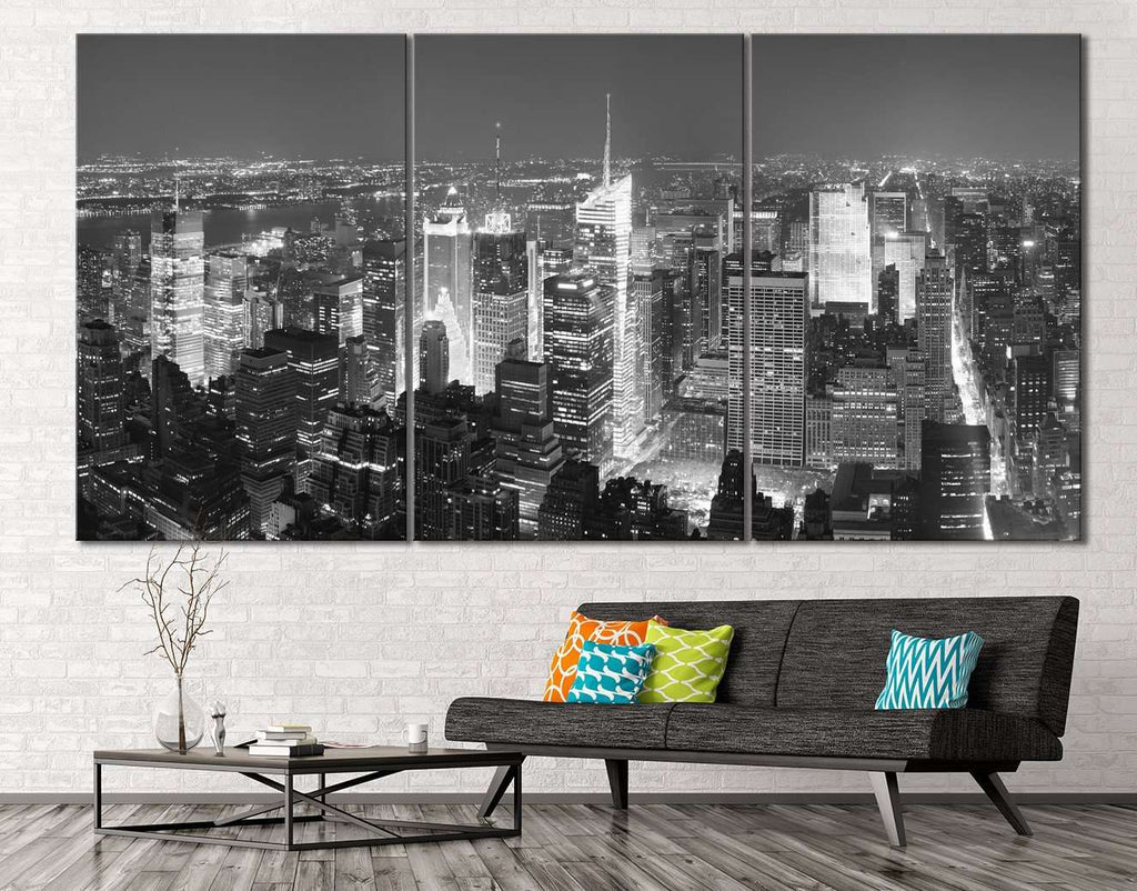 New York Cityscape №116 Ready to Hang Canvas Print