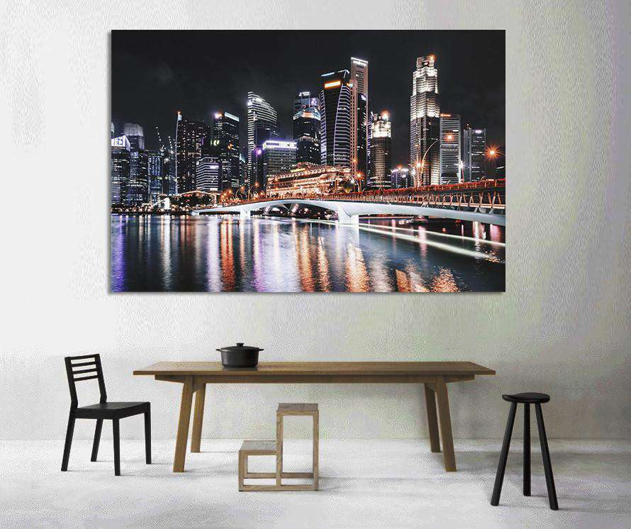 New York Cityscape №890 Ready to Hang Canvas Print