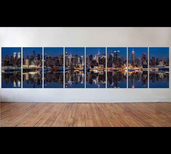New York Extra Large Panorama №44 Ready to Hang Canvas Print
