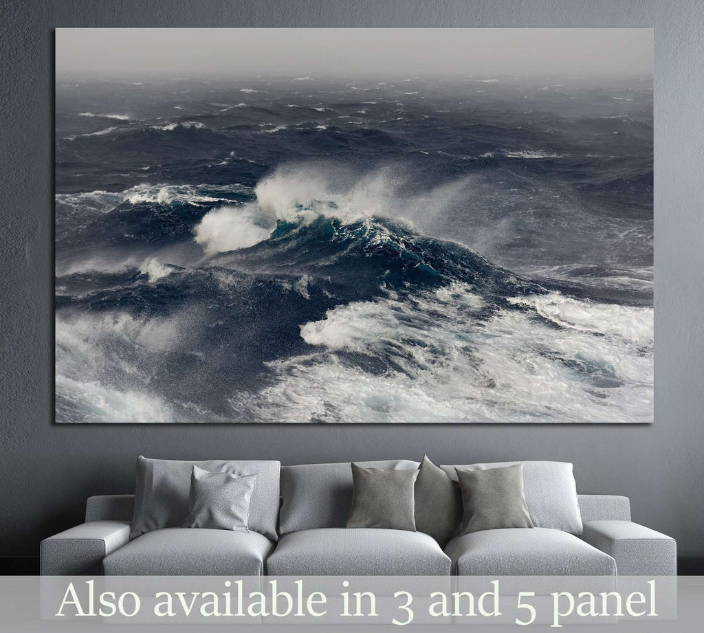 ocean wave, indian ocean №843 Ready to Hang Canvas Print