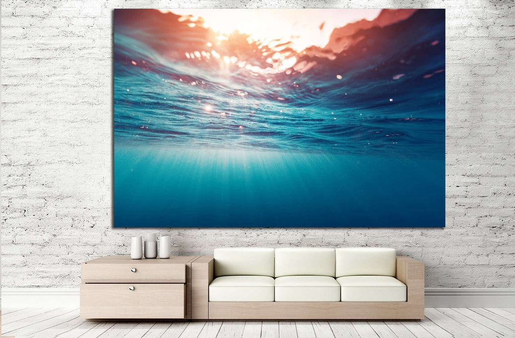 Ocean Waves №501 Ready to Hang Canvas Print