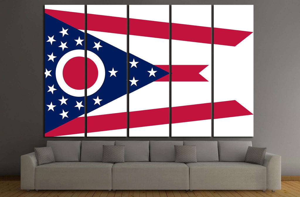 Ohio №675 Ready to Hang Canvas Print