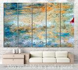Oil painting Abstraction №8 Ready to Hang Canvas Print