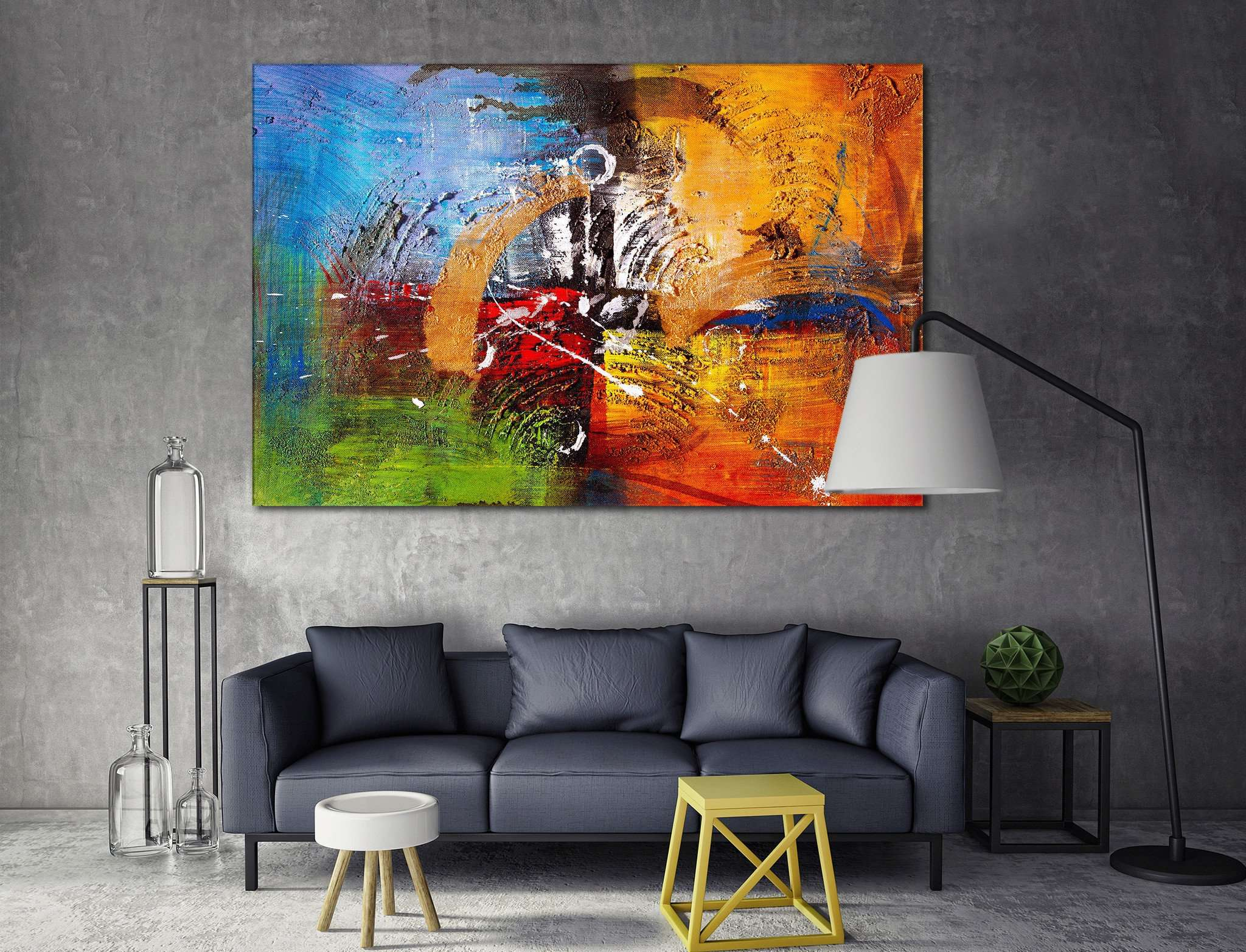 Oil Painting №842 Ready to Hang Canvas Print