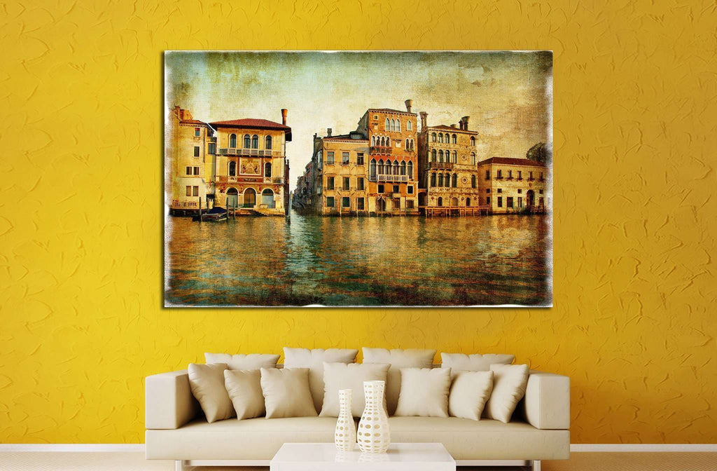 old beautiful Venice №757 Ready to Hang Canvas Print