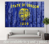 Oregon №666 Ready to Hang Canvas Print